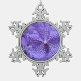 Orquídea púrpura magnífica adornos
