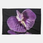 Orquídea púrpura toallas de cocina