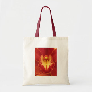 Orquídea roja bolsas