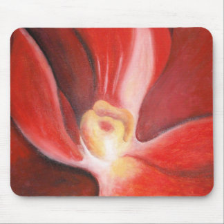 Orquídea roja alfombrillas de raton