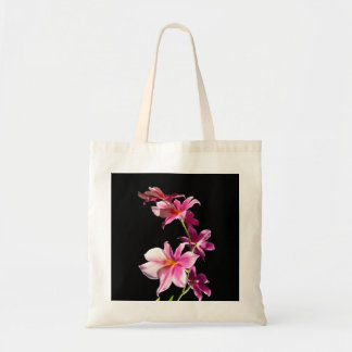 Orquídea rosada bolsas