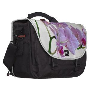 Orquídea rosada bolsas para ordenador