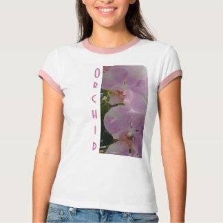 Orquídea rosada de la lavanda playeras