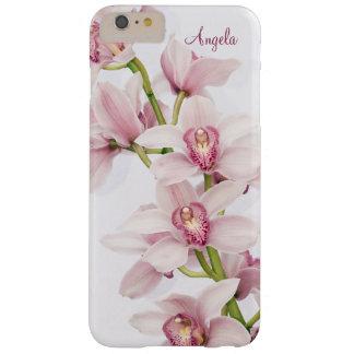 Orquídea rosada del Cymbidium floral Funda De iPhone 6 Plus Barely There