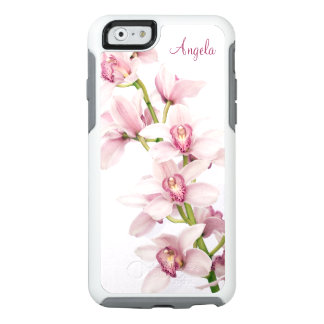 Orquídea rosada del Cymbidium floral Funda Otterbox Para iPhone 6/6s