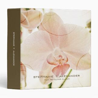 Orquídea rosada • El boda planea la carpeta