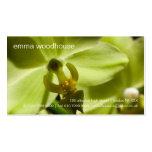 Orquídea • Tarjeta de visita personal