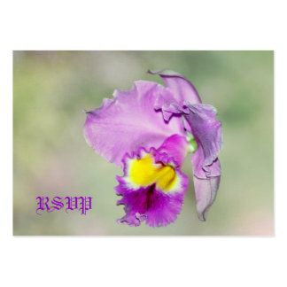 Orquídea tocada por dios para la mamá plantillas de tarjetas de visita