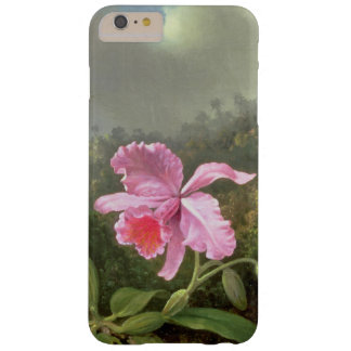 Orquídea y colibríes de Martin Johnson Heade Funda De iPhone 6 Plus Barely There
