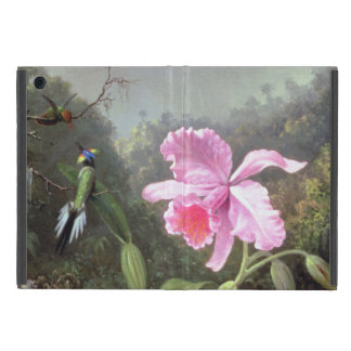 Orquídea y colibríes de Martin Johnson Heade iPad Mini Protector