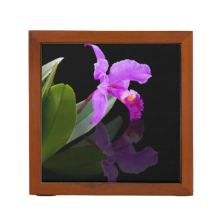 Orquídea y rosas, reversibles