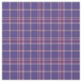 Orquídea y tela escocesa púrpura violeta de la telas