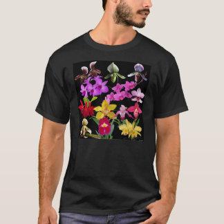 Orquídeas a montones playera