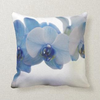 Orquídeas azules cojín