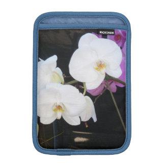 Orquídeas blancas funda de iPad mini