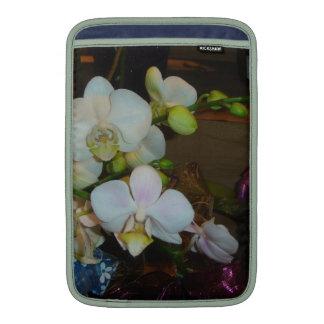Orquídeas blancas funda macbook air