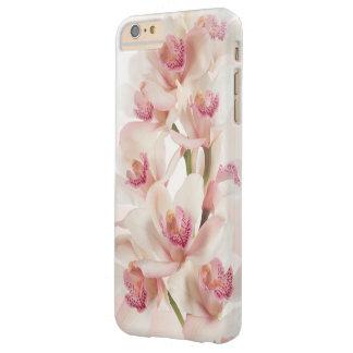 Orquídeas blancas funda para iPhone 6 plus barely there