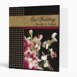 Orquídeas coloridas elegantes