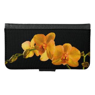 Orquídeas de polilla amarillas