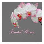 Orquídeas de polilla de PixDezines/fuschia Comunicados Personalizados