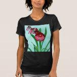 Orquídeas de señoras de baile camisetas