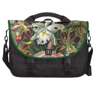 Orquídeas del vintage bolsas para portátil