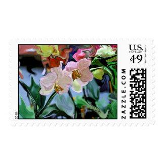 Orquídeas Estampilla