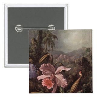 Orquídeas, flores de la pasión y colibríes de Mart Pin