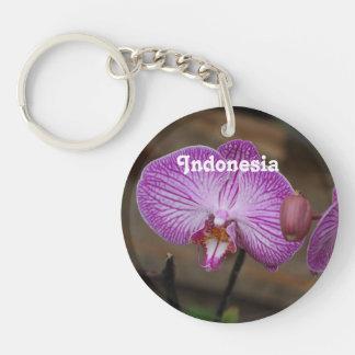 Orquídeas indonesias llaveros