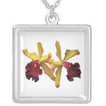 Orquídeas magentas y amarillas joyerias personalizadas