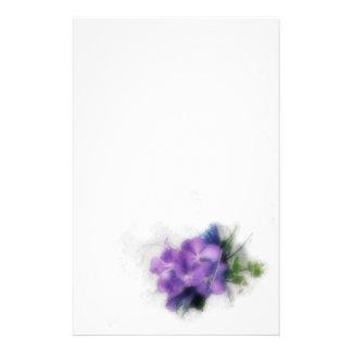 Orquídeas púrpuras 1 papeleria de diseño