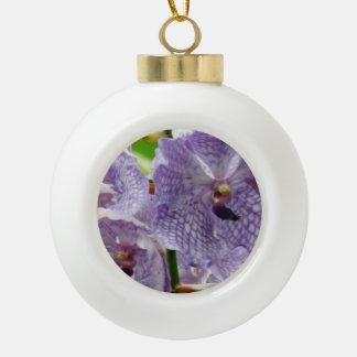 Orquídeas púrpuras adornos