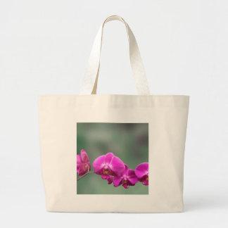 Orquídeas rosadas bolsa de mano