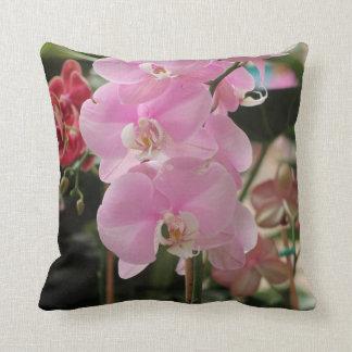 Orquídeas rosadas cojin