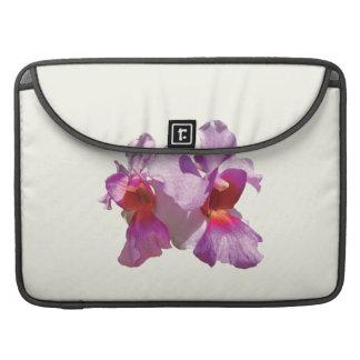 Orquídeas rosadas funda para macbooks