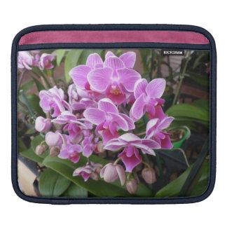 Orquídeas rosadas mangas de iPad