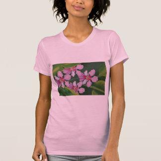 Orquídeas rosadas playera