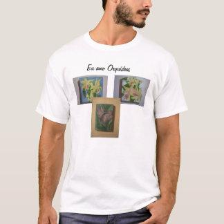 Orquídeas t-shirt