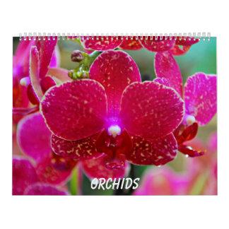 Orquídeas Calendarios De Pared