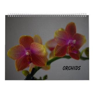 Orquídeas Calendario
