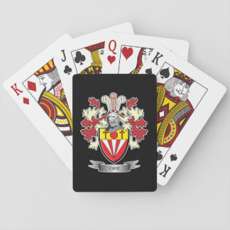 Orr Family Crest Coat of Arms Playing Cards