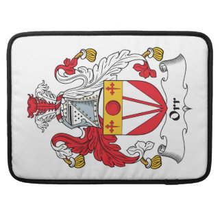 Orr Family Crest Sleeve For MacBook Pro