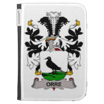 Orre Family Crest Kindle 3 Cases