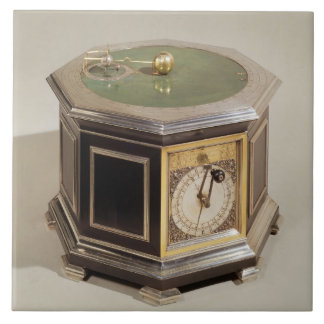Orrery made by Thomas Tompion (1639-1713) and Geor Ceramic Tile