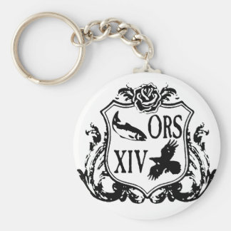 ORS Retreat Coat of Arms 2014 Basic Round Button Keychain