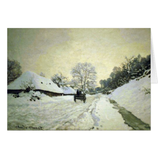 Orsay-brut by Claude Monet Card