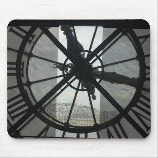 Orsay Clock Mousepad