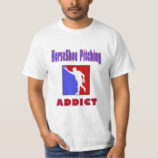 orseShoes Pitching Value Tee- Addict T-shirt