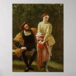Orsino and Viola Poster
