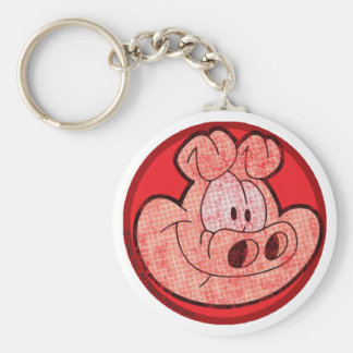 Orson the Pig Keychain